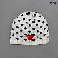 Шапка Minnie Mouse для девочки. 38-44 см
