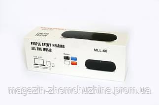 Моб.Колонка SPS JBL MLL60 bluetooth,Портативная колонка,bluetooth MP3 колонка!Акция, фото 3