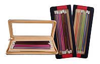 Набор прямых спиц 25 см Zing Knit Pro