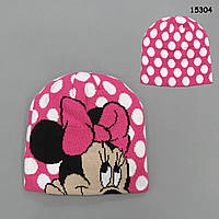 Шапка Minnie Mouse для девочки. 36-44 см, фото 1