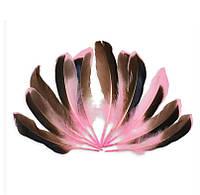 Перья Утки Декоративные (Перо) Розовые 10-15 см 20 шт/уп, фото 1