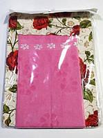 Фартук Nur с полотеничком розовый