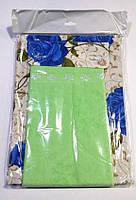 Фартук Nur с полотеничком салатный