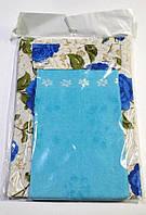 Фартук Nur с полотеничком бирюзовый