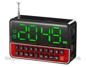 Моб.Колонка SPS WS 1513 + Clock,Мобильная колонка SPS WS 1513!Акция, фото 2