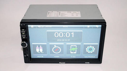 2din Автомагнитола Pioneer 7018G GPS Навигация