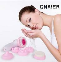 Массажер для лица Multifunction face massager Cnaier AE-8283 6 насадок купить в Украине, фото 1