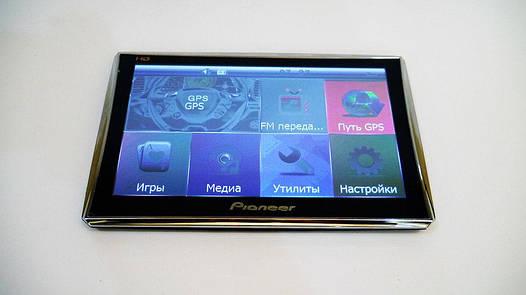"7"" GPS навигатор Pioneer HD 4Gb + FM (IGO+Navitel)"