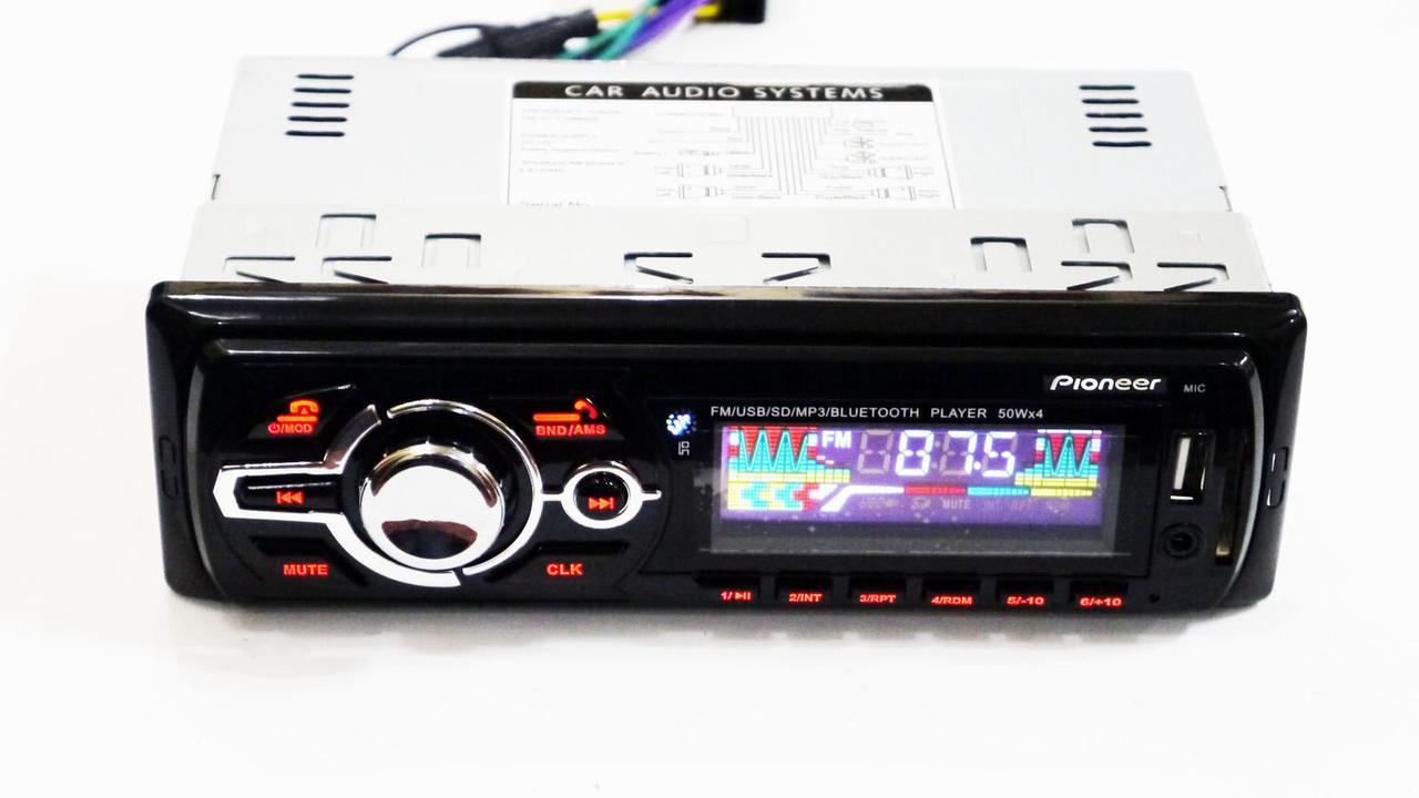 Автомагнитола Pioneer MVH-4008U ISO+Bluetooth