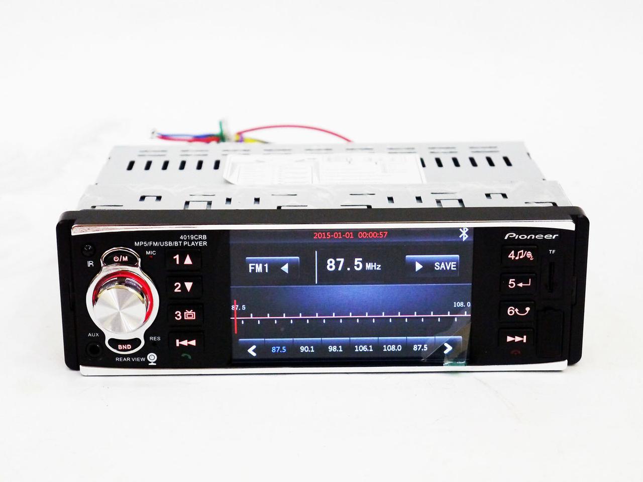 Автомагнитола MP5 Pioneer 4019 CRB экран 4.1 Bluetooth