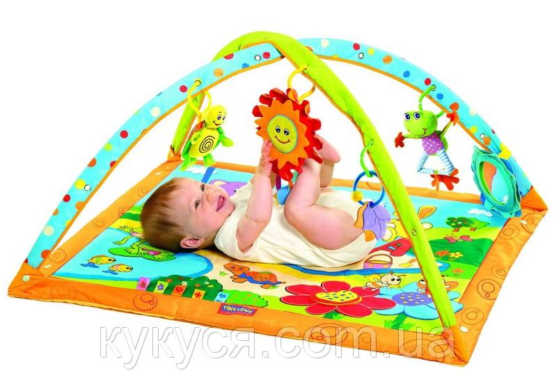 Развивающий коврик tiny love солнечный денек купить