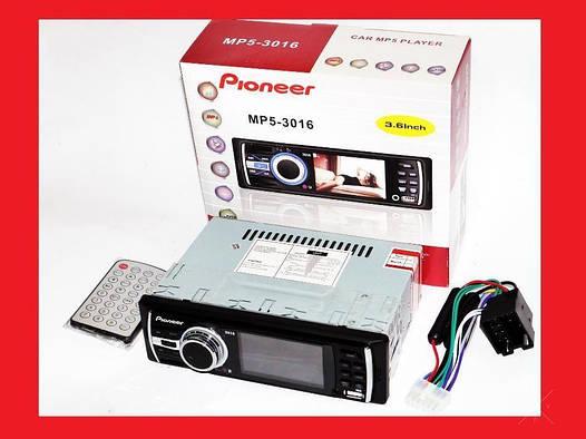 "Автомагнитола Pioneer 3016 - 3"" Video экран"