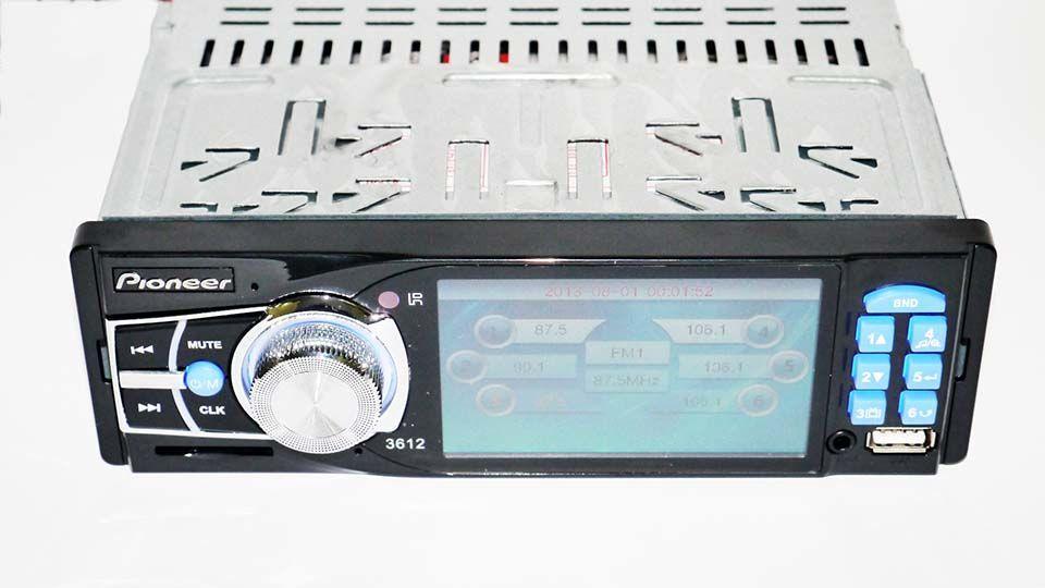 "Автомагнитола Pioneer 3612 ISO - 3,6"" TFT Video экран"