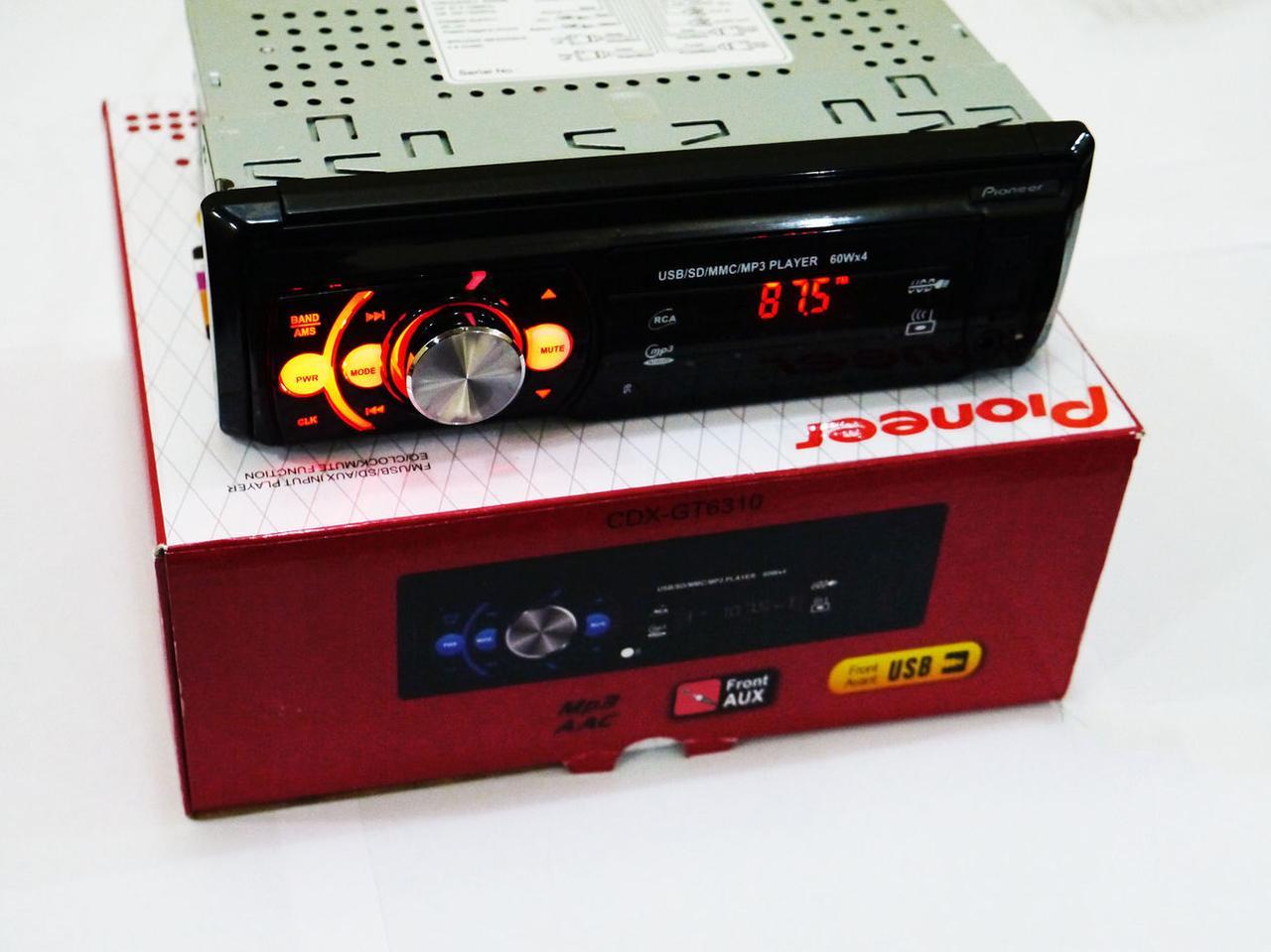 Автомагнитола Pioneer CDX-GT6310