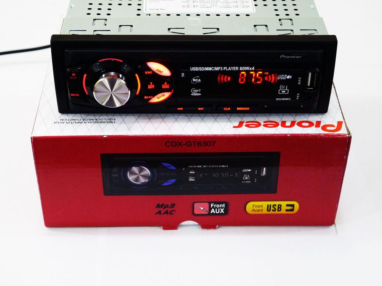 Автомагнитола Pioneer CDX-GT6307