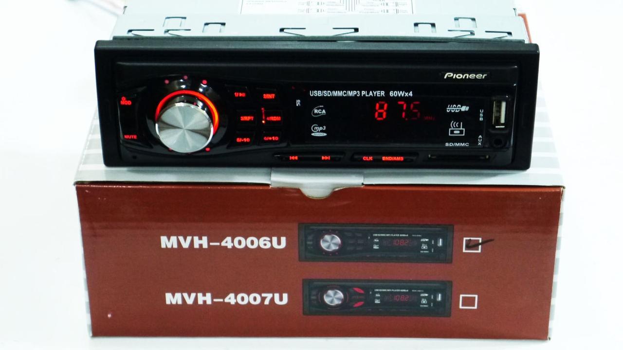 Автомагнитола Pioneer MVH-4006U ISO