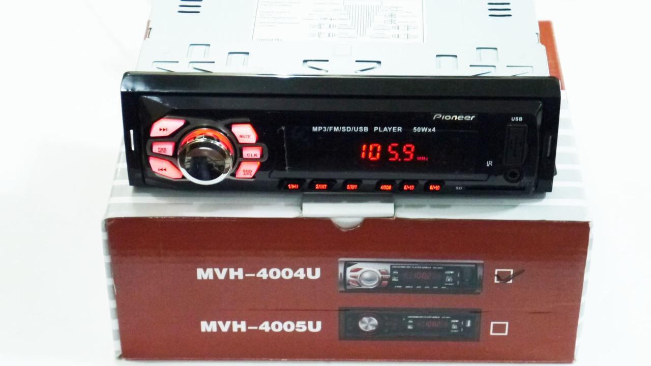 Автомагнитола Pioneer MVH-4004U ISO