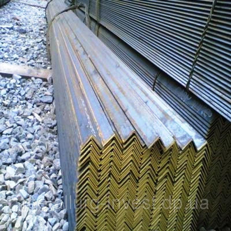 Уголок стальной 63 мм ст.0-3сп/пс ГОСТ 8509-93