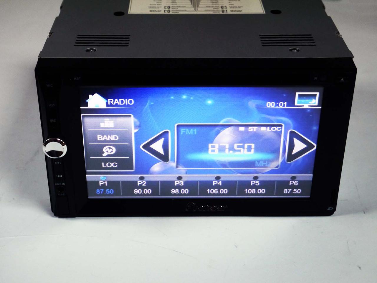 "2din Pioneer PI-888 7""+ цветная камера и TVантенна"