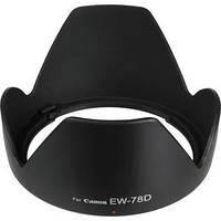 Бленда EW-78D для об'єктивів Canon EF-S 18-200MM f/3.5-5.6 IS, EF 28-200mm f/3.5-5.6 USM