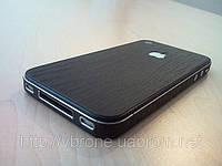 Декоративная защитная пленка для Iphone 4/4S, дерево темное