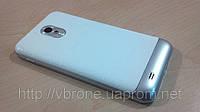 Декоративная защитная пленка для Samsung Galaxy S II CDMA, аллигатор белый