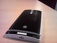 Декоративная защитная пленка для телефона Sony Ericsson Xperia S карбон черный