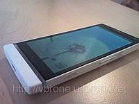 Декоративная защитная пленка для телефона Sony Ericsson Experia S аллигатор белый