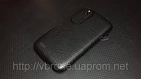 Декоративная защитная пленка для HTC Desire V кожа черная