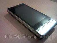 Декоративная защитная пленка для HTC T5353 Touch Daimond карбон черный