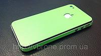 "Декоративная защитная пленка для Iphone 4/4S, ""яблочно-зеленая матовая"""