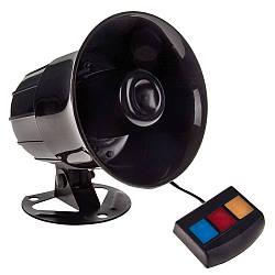 Автомобильный сигнал Полиция CA-90104, 30W, 3 тона +блок, Звуковой сигнал, сирена в автомобиль, сигнал в машин