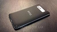 Декоративная защитная пленка для HTC Desire 600 микро карбон черный