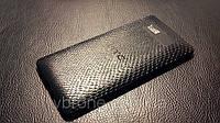 Декоративная защитная пленка для HTC Desire 600 рептилия черная