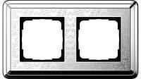 Рамка 2-пост. GIRA ClassiX Art хром
