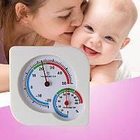 2 в 1 Механический гигрометр и термометр (измеритель влажности и температуры)