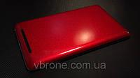 """Декоративная защитная пленка для Asus Nexus 7 """"канди красный"""""""