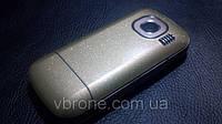 """Декоративная защитная пленка для Nokia C2-06 """"золотой блеск"""""""
