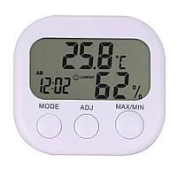 3 в 1 Домашний цифровой ЖК термометр, гигрометр (влагомер) и часы