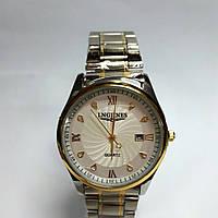 Часы кварцевые мужские с датой LNGJINES