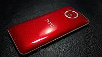 """Декоративная защитная пленка для HTC Desire 609D """"канди красный"""""""