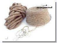 Веревка льняная для декора деревянного дома диам. 12 мм (в бобинах по 50 м.п.)