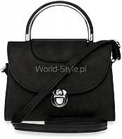 02-19 Черная женская сумка 5902734923998