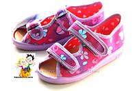 Тапочки,босоножки Raweks 25 размер - 16 см   для девочек  с кожаными стельками
