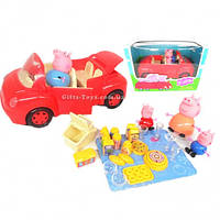 Игровой набор Свинка Машинка