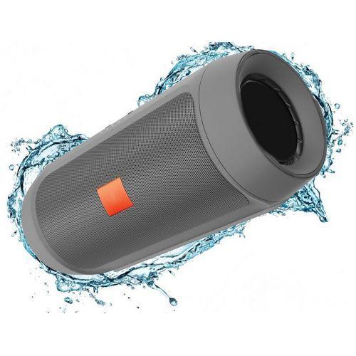 Портативная bluetooth колонка MP3 плеер E2 CHARGE2+ Silver, фото 1