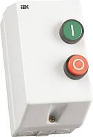 Контактор ІЕК КМИ-10960 9А в оболонці з індикатором 220В/АС3 ІР54