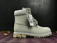 Ботинки Timberland grey camo без меха. Живое фото. Топ качество! (тимберленд)