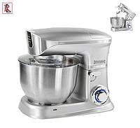 Кухонный комбайн-тестомес Royalty Line PKM-1900 Silver 6,5 л