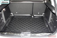 Коврик в багажник для Toyota Highlander с 2012- / цвет: черный